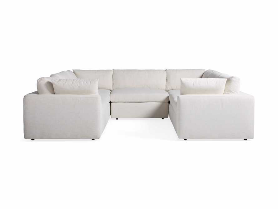 Beale Upholstered Seven Piece U-Shaped Sectional, slide 6 of 7