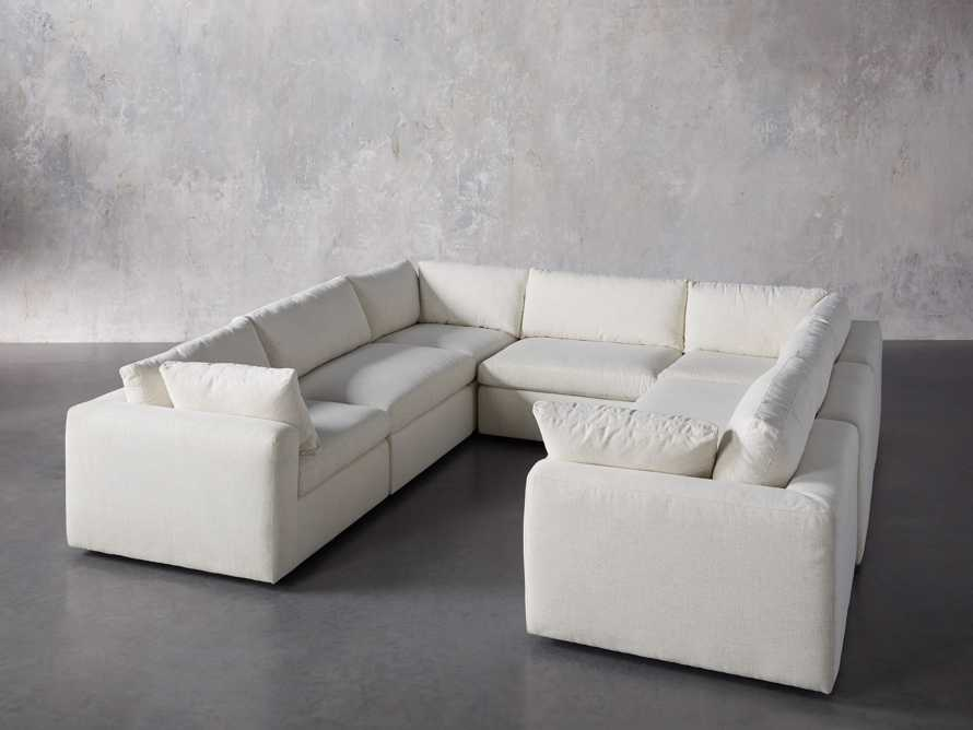 Beale Upholstered Seven Piece U-Shaped Sectional, slide 2 of 7