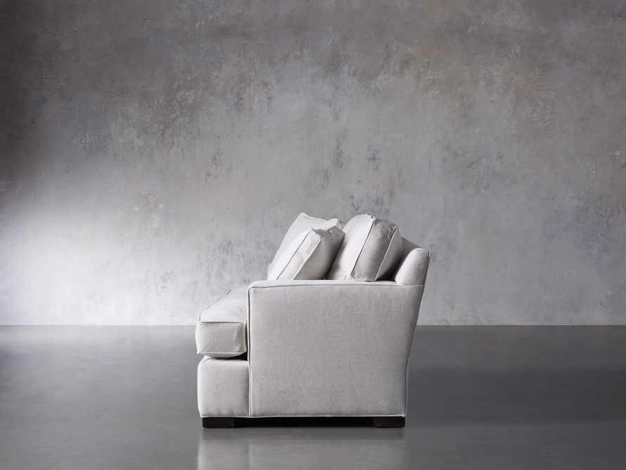 "Dune Upholstered 88"" Sofa in Vertual Snow, slide 3 of 7"