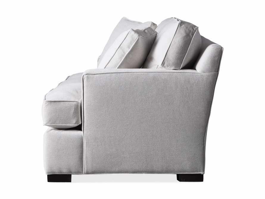 "Dune Upholstered 88"" Sofa in Vertual Snow, slide 7 of 7"