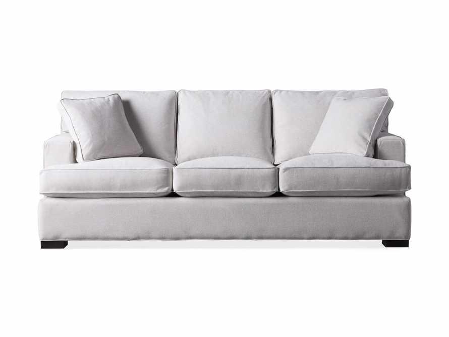 "Dune Upholstered 88"" Sofa in Vertual Snow, slide 6 of 7"