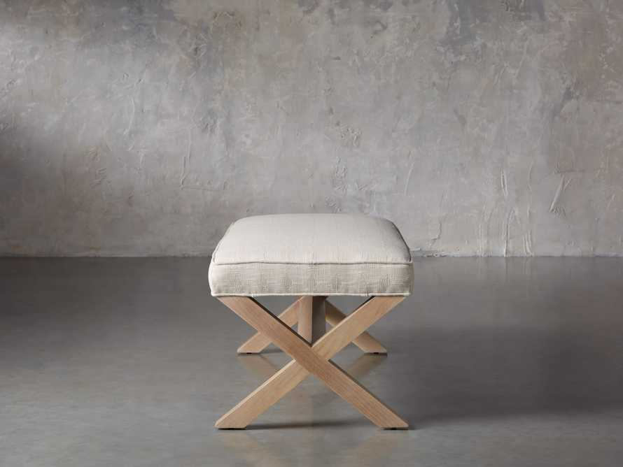 "Fanning Upholstered 48"" Bench"