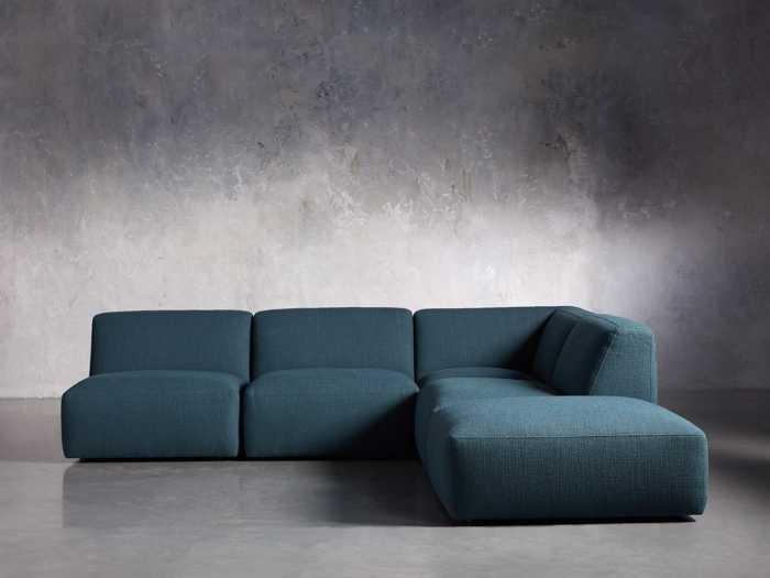 Phenomenal Sectional Sofas Couches Leather Sectional Sofas Arhaus Creativecarmelina Interior Chair Design Creativecarmelinacom