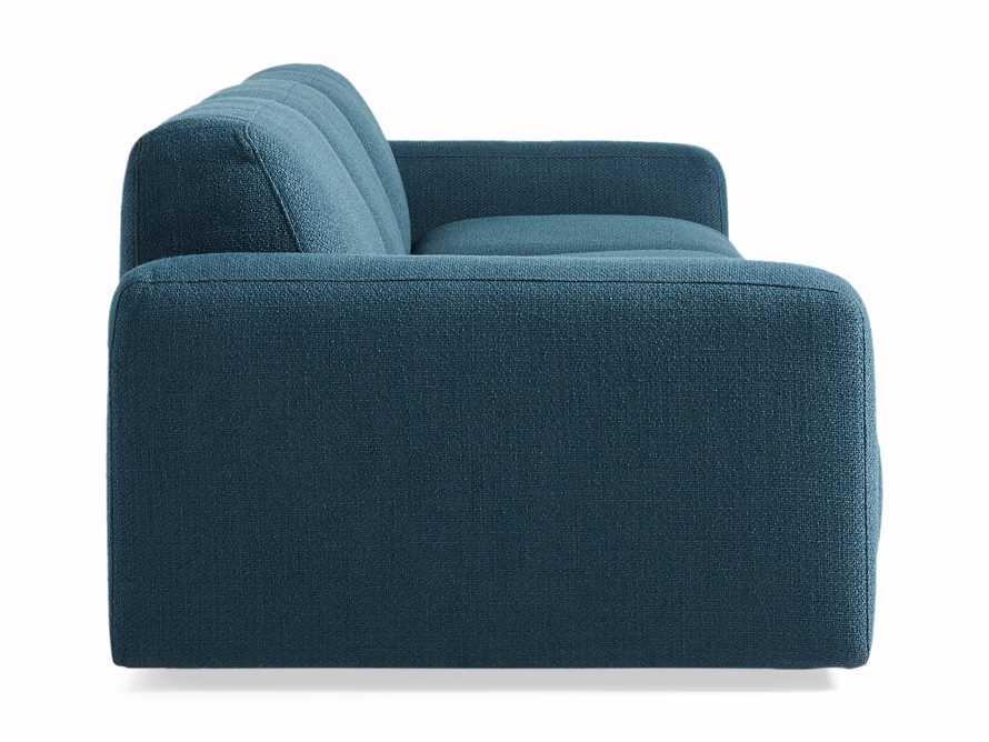 Cooper Upholstered Three Piece Modular Sofa in Moto Juniper