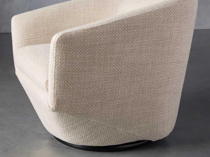 """Pelton Upholstered 31"""" Swivel Chair, slide 6 of 11"""
