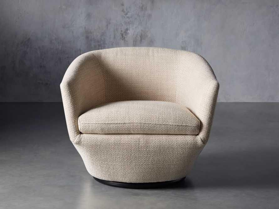 """Pelton Upholstered 31"""" Swivel Chair, slide 2 of 11"""