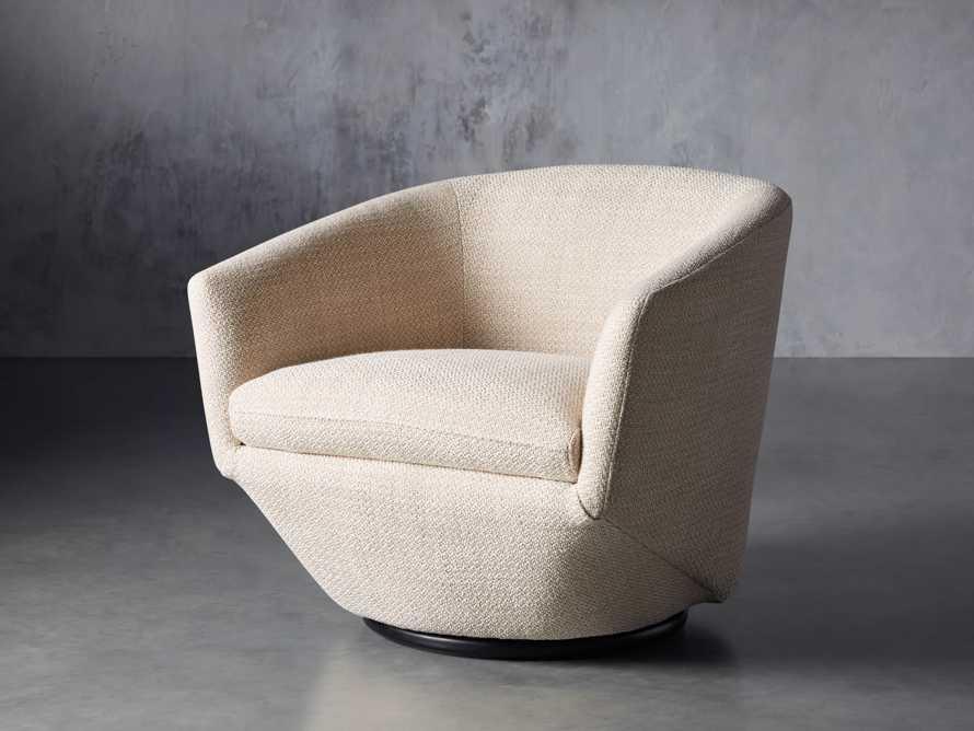 """Pelton Upholstered 31"""" Swivel Chair, slide 3 of 11"""
