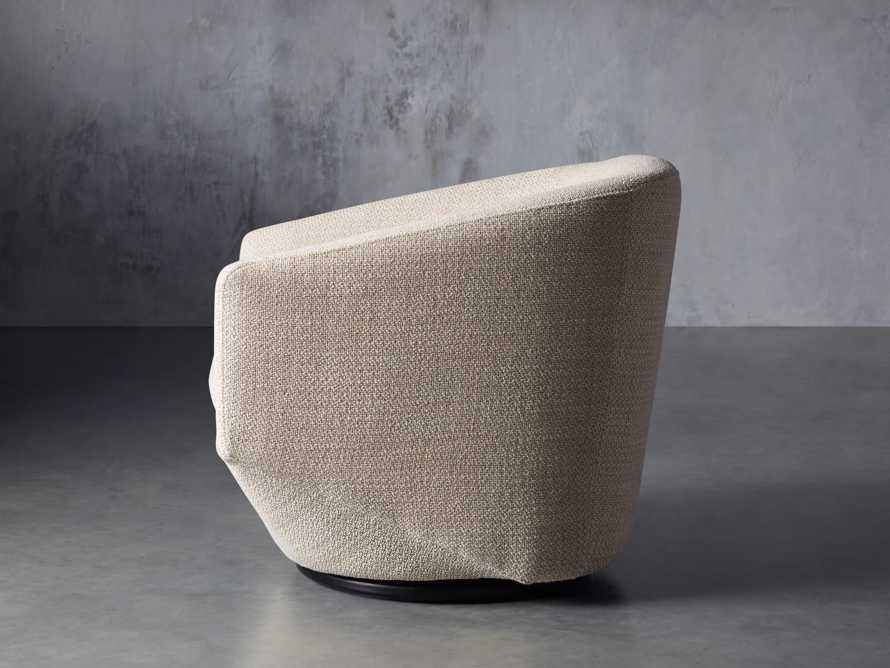 """Pelton Upholstered 31"""" Swivel Chair, slide 4 of 11"""