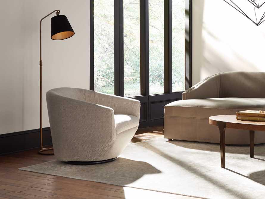 """Pelton Upholstered 31"""" Swivel Chair, slide 7 of 12"""