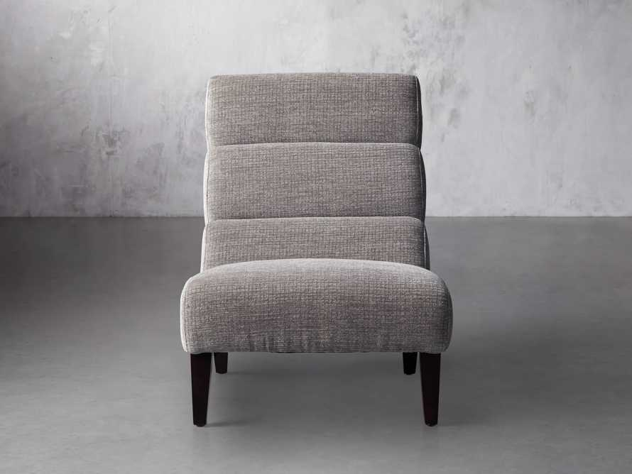 "Eldon Upholstered 29"" Armless Chair in Shayna Nature, slide 1 of 6"