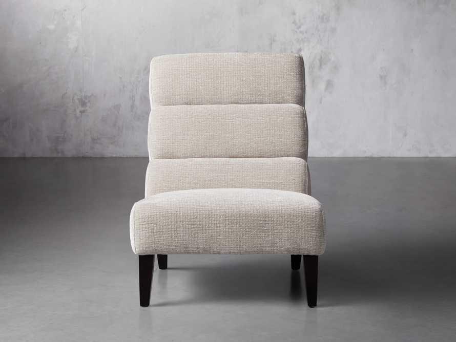 """Eldon Upholstered 29"""" Armless Chair in Shayna Porcelain, slide 1 of 6"""