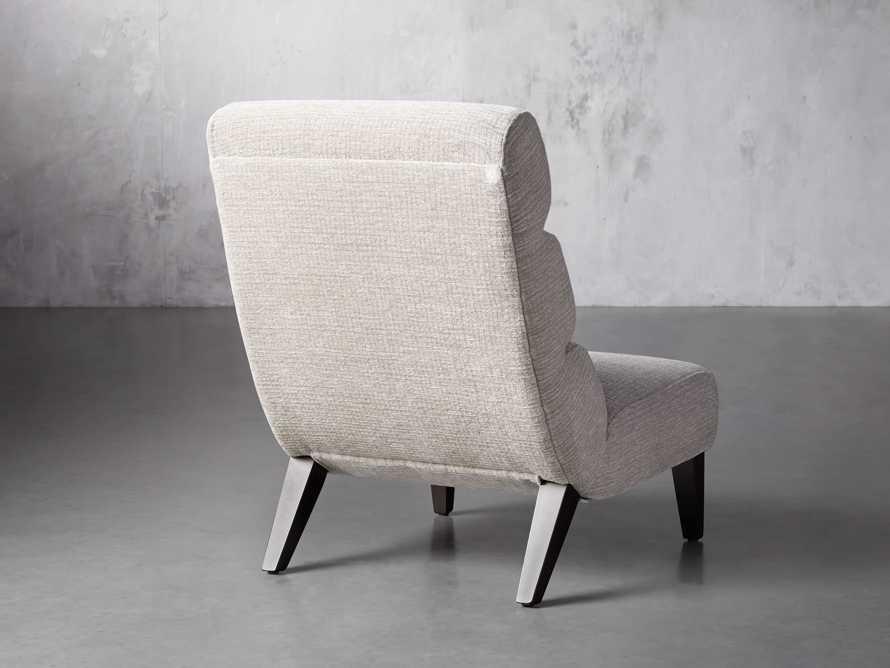 """Eldon Upholstered 29"""" Armless Chair in Shayna Porcelain, slide 4 of 6"""