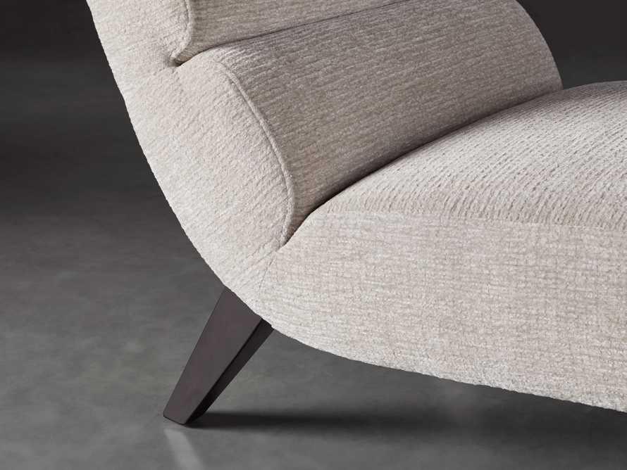 """Eldon Upholstered 29"""" Armless Chair in Shayna Porcelain, slide 5 of 6"""