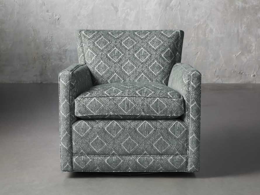 """Rudy Upholstered 31"""" Swivel Chair, slide 2 of 8"""