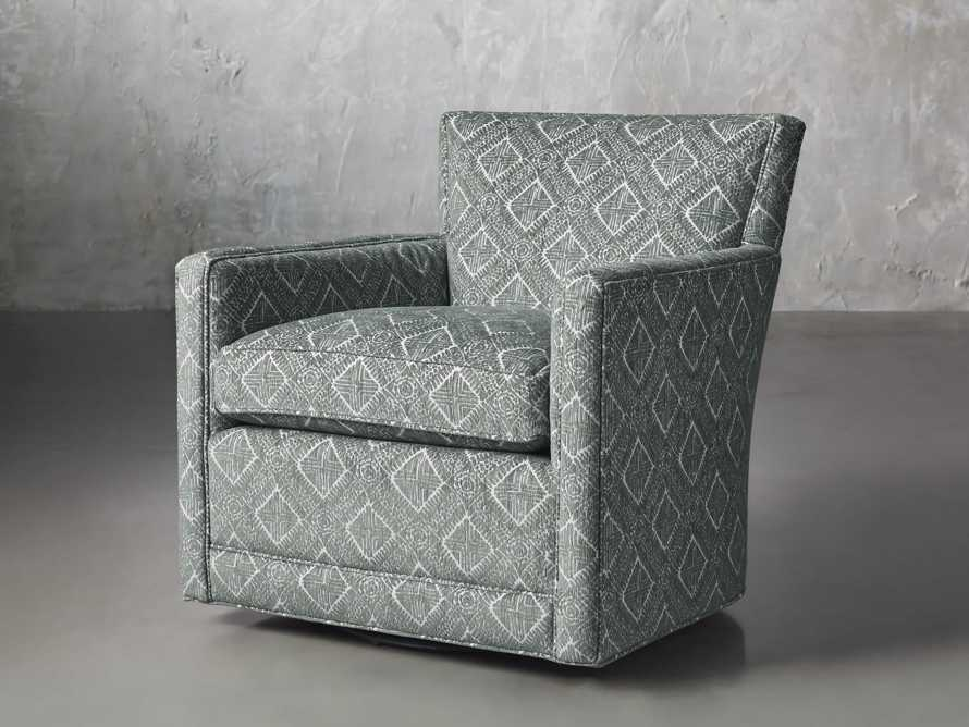 """Rudy Upholstered 31"""" Swivel Chair, slide 3 of 8"""
