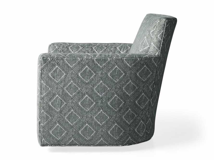 """Rudy Upholstered 31"""" Swivel Chair, slide 8 of 8"""