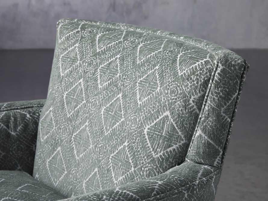 """Rudy Upholstered 31"""" Swivel Chair, slide 6 of 8"""
