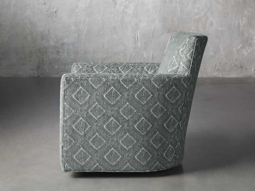 """Rudy Upholstered 31"""" Swivel Chair, slide 4 of 8"""
