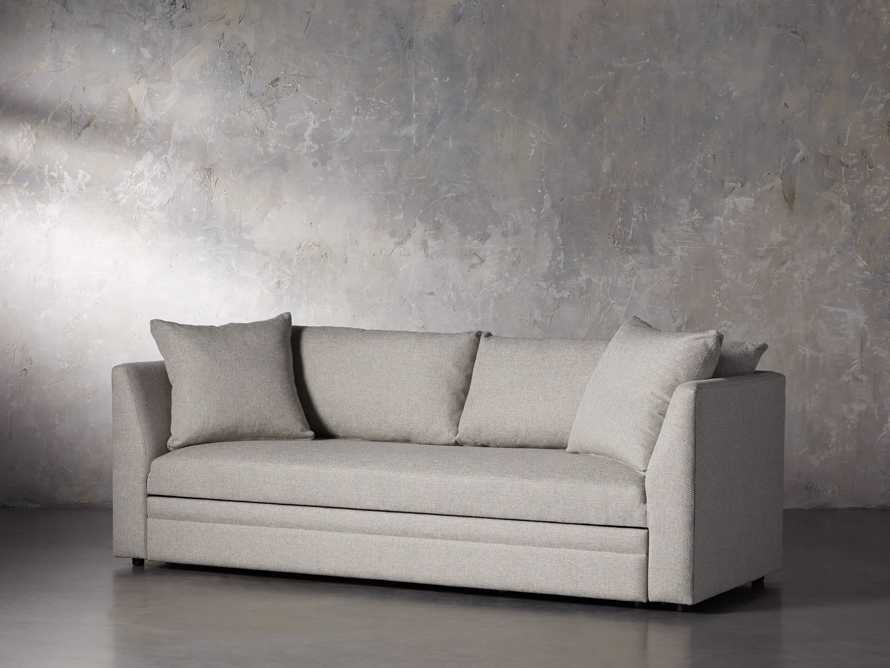 "Pavo Upholstered 93"" Queen Trundle Sofa, slide 2 of 12"