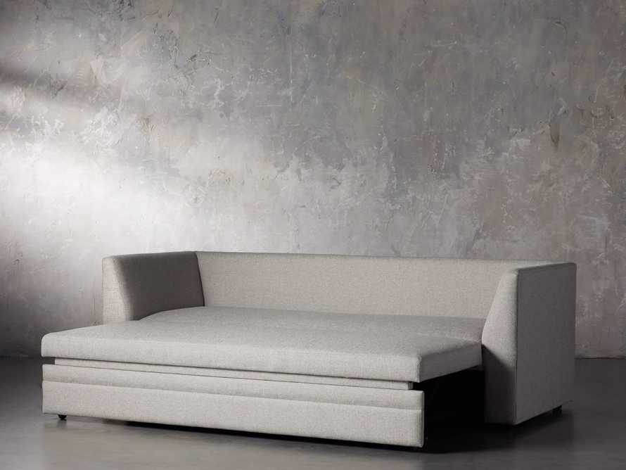 "Pavo Upholstered 93"" Queen Trundle Sofa, slide 4 of 12"