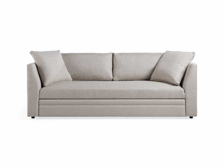 "Pavo Upholstered 93"" Queen Trundle Sofa, slide 11 of 12"
