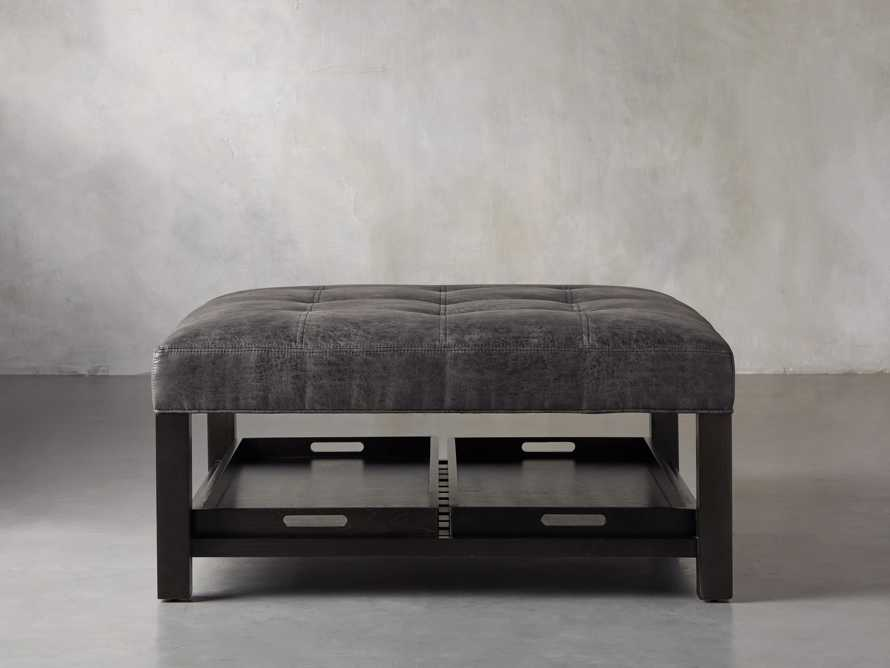 "Butler Biscuit Tufted 39"" Ottoman, slide 1 of 9"