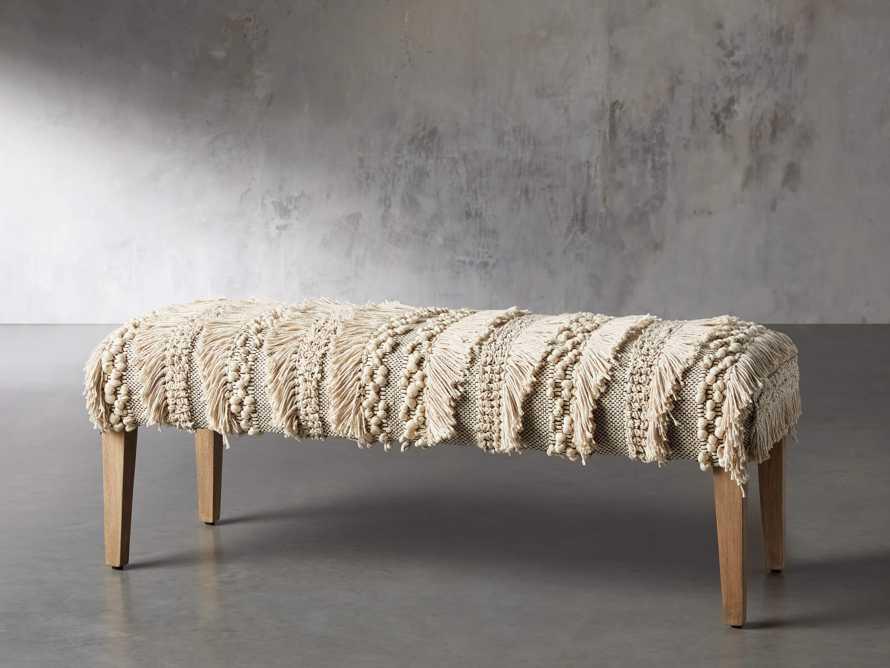 "Isola Upholstered 49"" Bench"