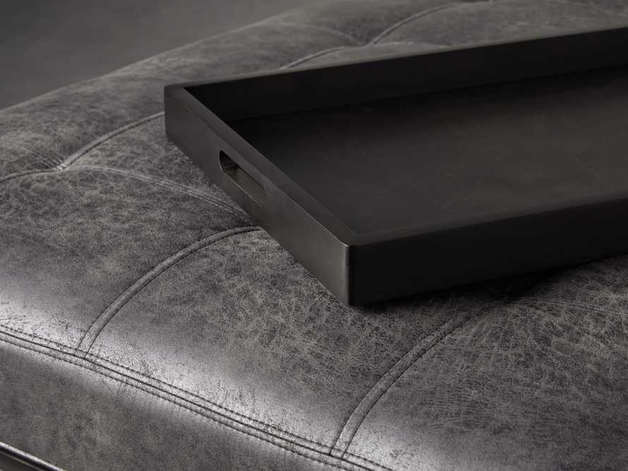 "Butler Biscuit Tufted 48"" Ottoman, slide 4 of 8"