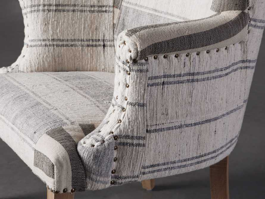 "Marlin Upholstered 28"" Chair in Marlin Grey, slide 6 of 8"