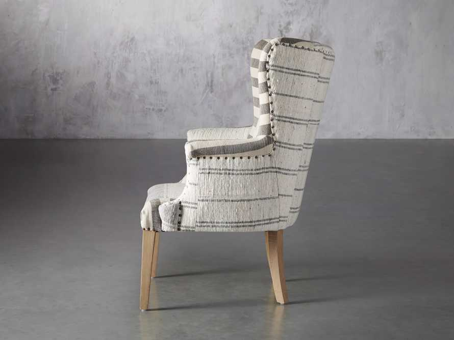 """Marlin Upholstered 28"""" Chair in Marlin Grey, slide 4 of 8"""