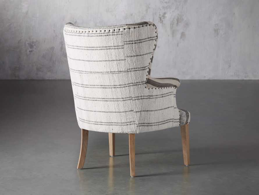 """Marlin Upholstered 28"""" Chair in Marlin Grey, slide 5 of 8"""
