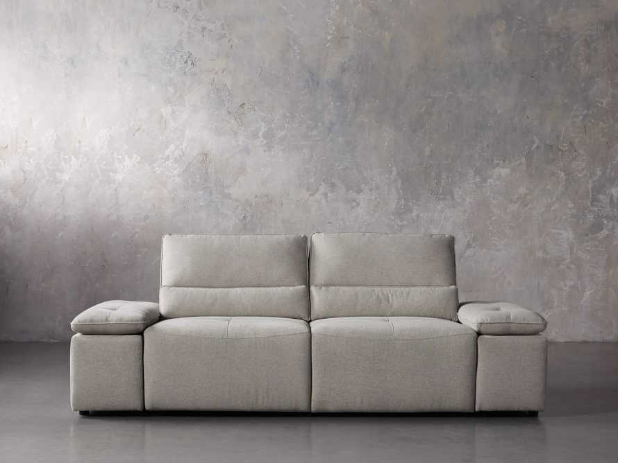 "Madden Upholstered 100"" Motion Sofa, slide 1 of 12"