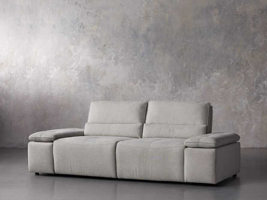 "Madden Upholstered 100"" Motion Sofa, slide 2 of 12"