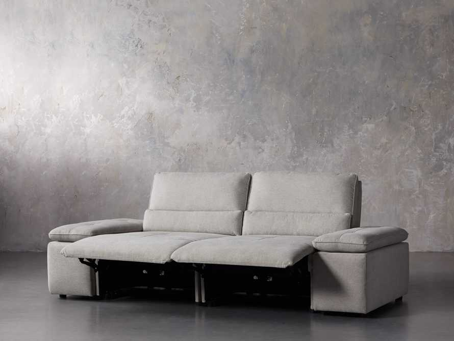 "Madden Upholstered 100"" Motion Sofa, slide 3 of 12"
