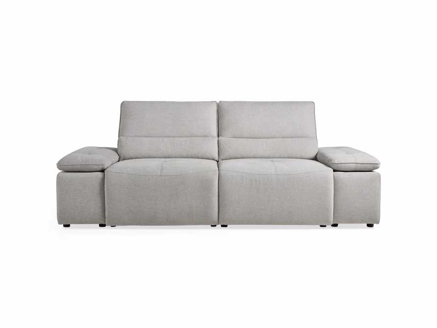 "Madden Upholstered 100"" Motion Sofa, slide 10 of 12"