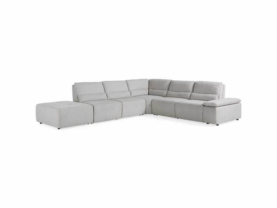 Madden Upholstered Seven Piece Motion Sectional