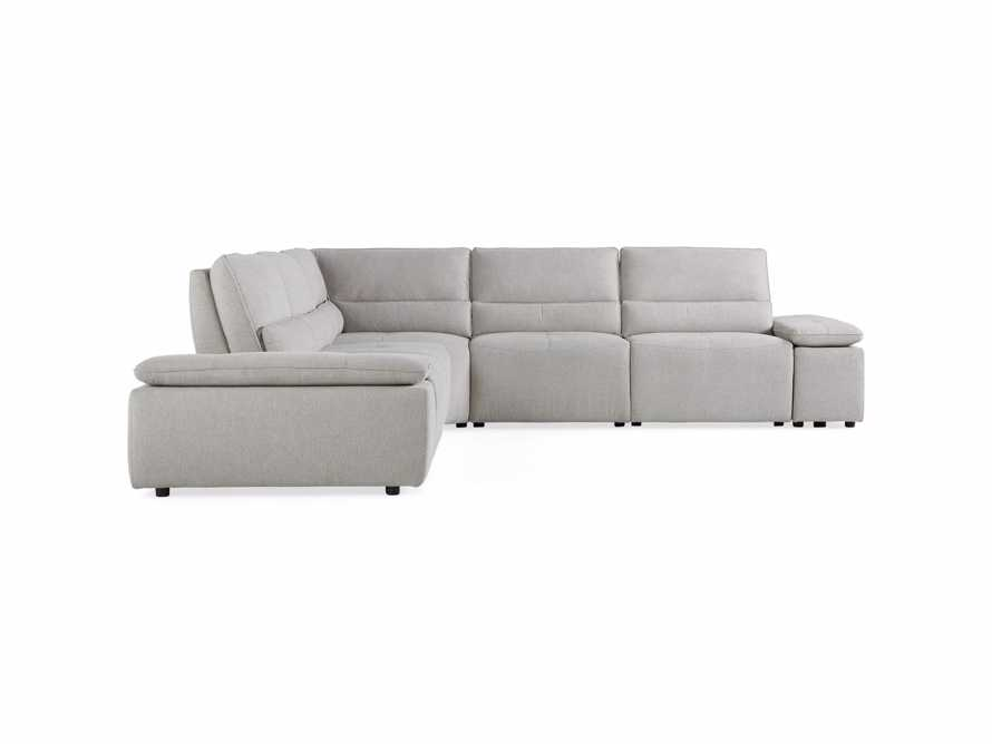 Madden Upholstered Seven Piece Motion Corner Sectional