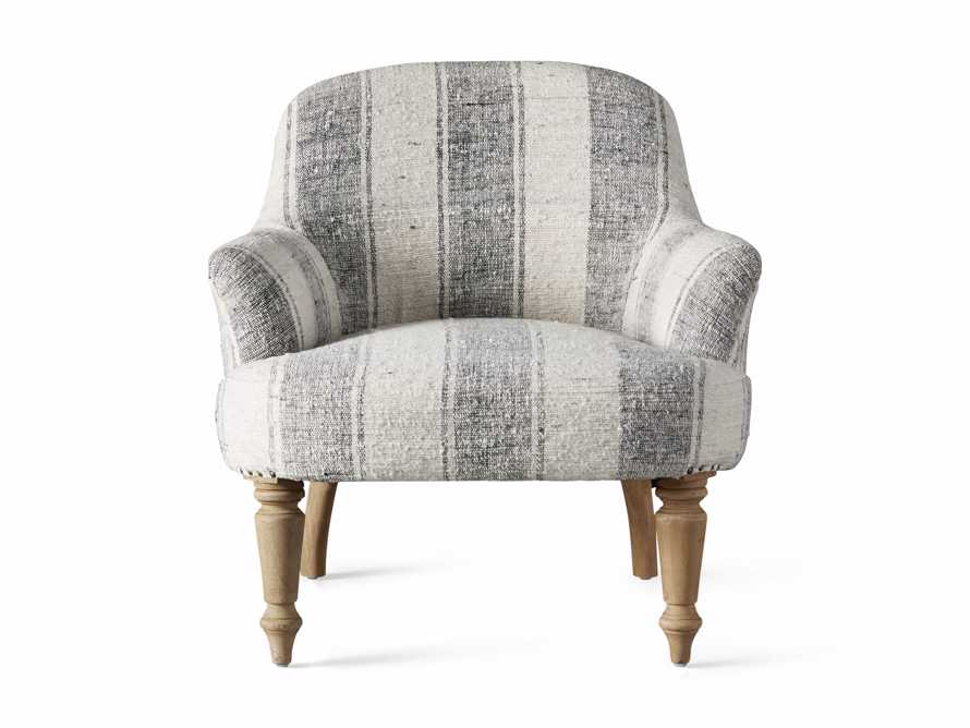 """Derry Upholstered 31"""" Chair in Derry Navy, slide 8 of 9"""