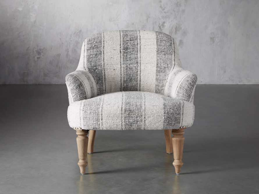"""Derry Upholstered 31"""" Chair in Derry Navy, slide 2 of 9"""
