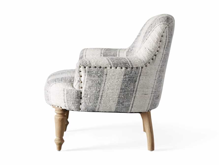 """Derry Upholstered 31"""" Chair in Derry Navy, slide 9 of 9"""