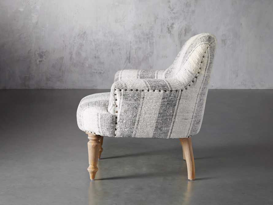 """Derry Upholstered 31"""" Chair in Derry Navy, slide 4 of 9"""