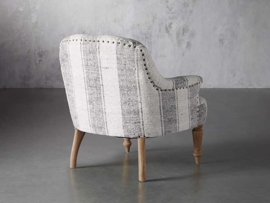"""Derry Upholstered 31"""" Chair in Derry Navy, slide 5 of 9"""