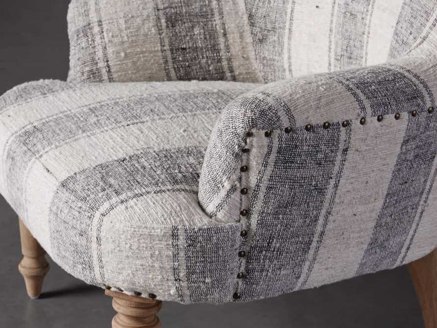 """Derry Upholstered 31"""" Chair in Derry Navy, slide 6 of 9"""