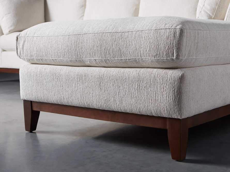 """Bryden Upholstered 129"""" Right Arm Daybed Sectional, slide 5 of 8"""