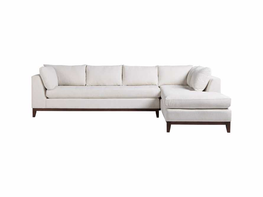 """Bryden Upholstered 129"""" Right Arm Daybed Sectional, slide 7 of 8"""