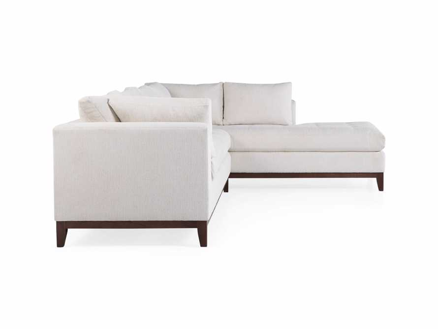 """Bryden Upholstered 129"""" Right Arm Daybed Sectional, slide 8 of 8"""