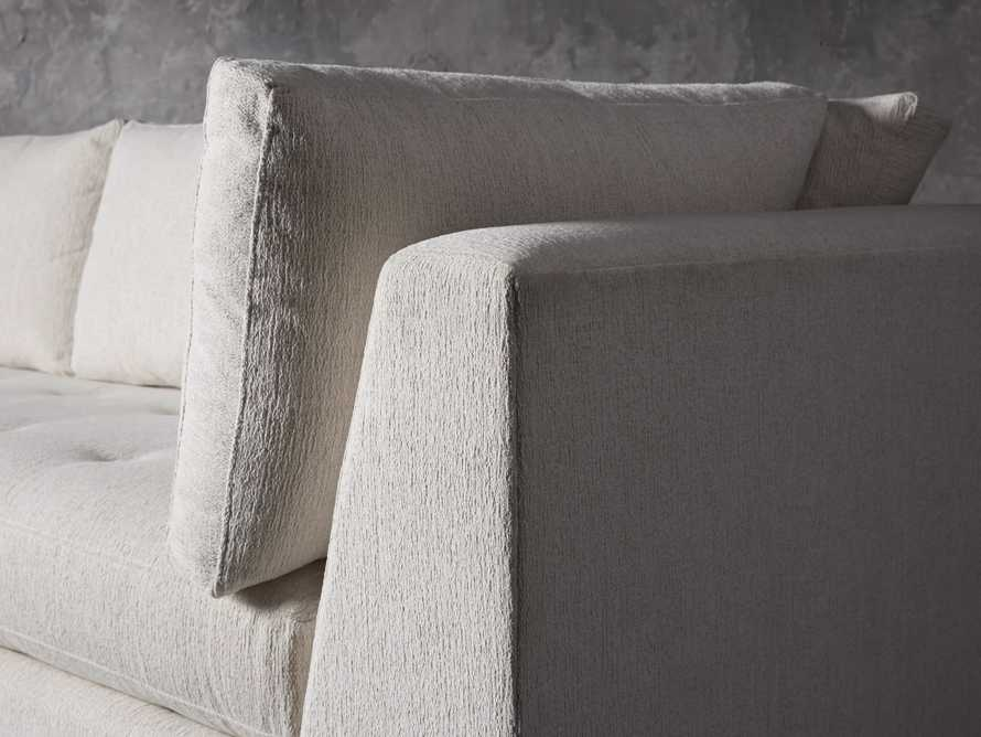 "Bryden Upholstered 90"" Sofa in Tania Cashmere"
