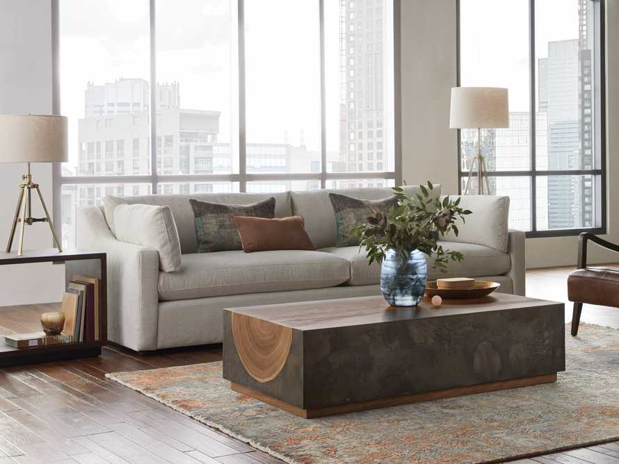 "Ashby Upholstered 106"" Sofa in Cushing Frost, slide 7 of 11"