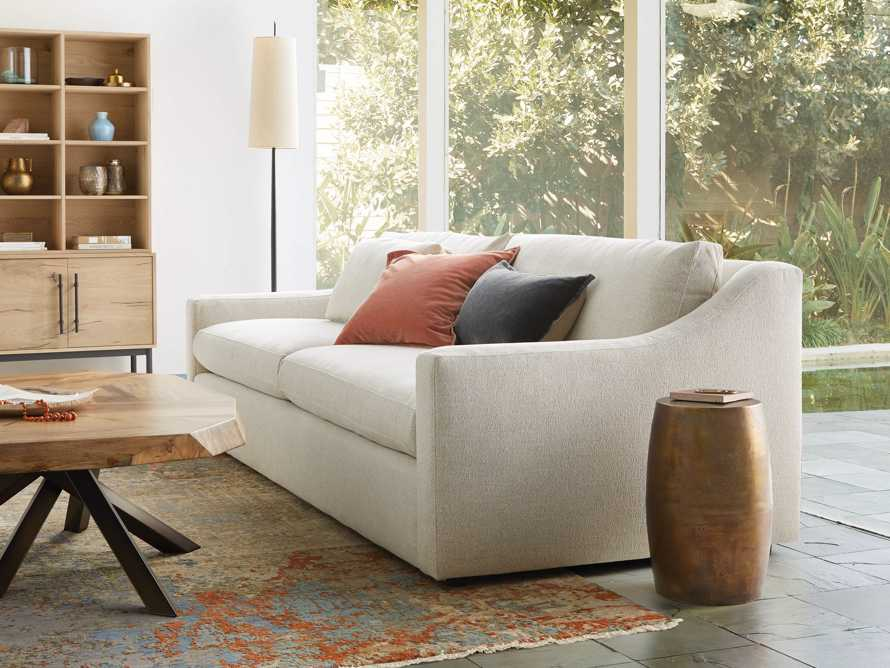 "Ashby Upholstered 106"" Sofa in Cushing Frost, slide 9 of 11"