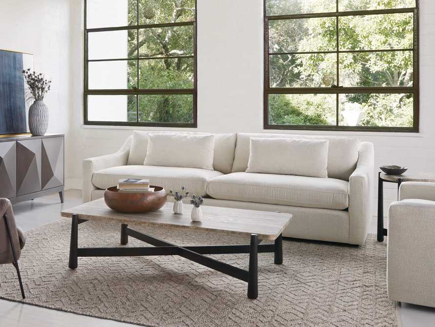 "Ashby Upholstered 106"" Sofa in Cushing Frost, slide 8 of 11"